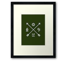 WoW Brand - Survival Hunter Framed Print