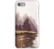 Crooked River iPhone Case/Skin