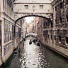 Bridge of Sighs Venice Italy 199710010032 by Fred Mitchell