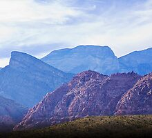 Red Rock Skyline by John Manning