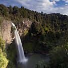 Bridal Veil Falls. by Michael Treloar