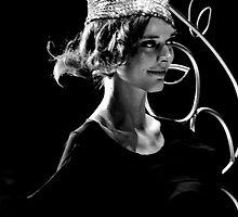 Diet Coca Cola Little Black Dress Show - Erin McNaught by David Petranker