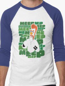 Meep Fella Men's Baseball ¾ T-Shirt