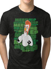 Meep Fella Tri-blend T-Shirt