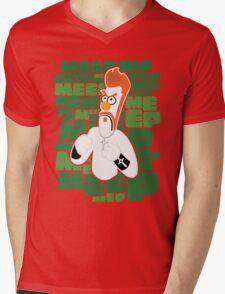 Meep Fella Mens V-Neck T-Shirt