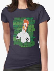 Meep Fella Womens Fitted T-Shirt