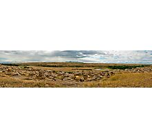 Writing On Stone Provincial Park (Pano) Photographic Print