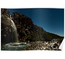 Taranaki Falls. Poster