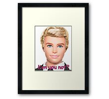 Ken Doll Framed Print