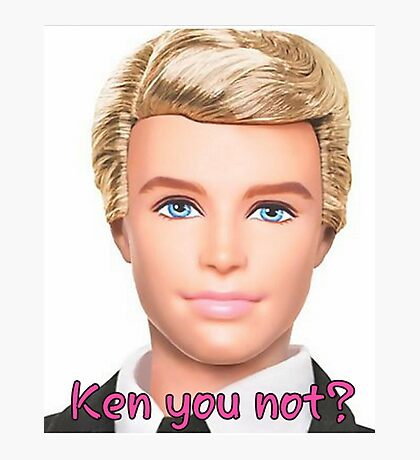 Ken Doll Photographic Print