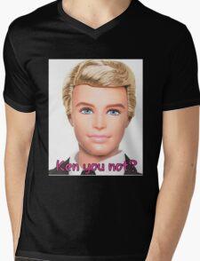Ken Doll Mens V-Neck T-Shirt