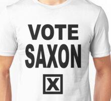 Vote Saxon [Black Lettering] Unisex T-Shirt