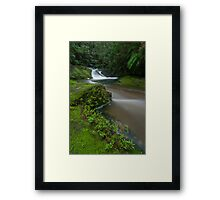Forgotten Waterfalls. Framed Print