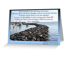 Happy Wherever You Are Greeting Card
