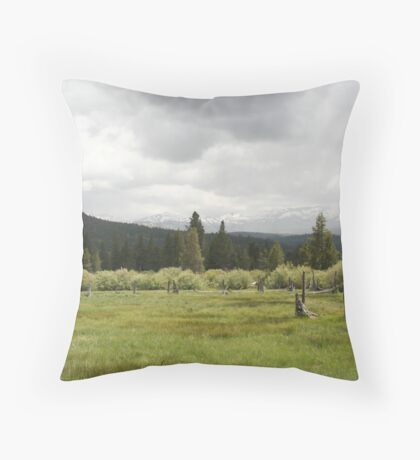 """""""Hope Valley"""" Throw Pillow"""