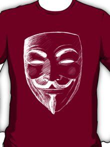 V for Vendetta (Inverted Colors) T-Shirt