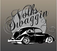 "Volks ""Swaggin"" Beetle by BlulimeMerch"