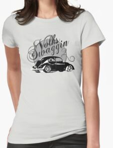"Volks ""Swaggin"" Beetle © Womens Fitted T-Shirt"