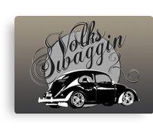 "Volks ""Swaggin"" Beetle Canvas Print"