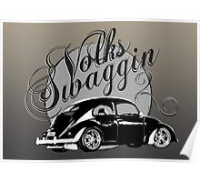 """Volks """"Swaggin"""" Beetle © Poster"""
