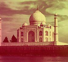 Taj Mahal by lawleypop