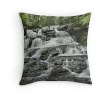 Indian Ladders Falls Throw Pillow
