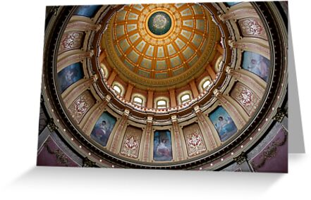 Capitol Dome (Lansing, Michigan) by NEmens