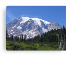 Mt. Rainier, South Side in Summer Canvas Print