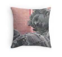 The Love of Death Throw Pillow