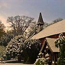 Winter - Norcliffe Chapel, Styal Village, Cheshire by John Brotheridge