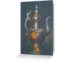 Metal Container Greeting Card