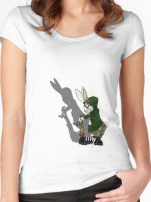 Rabbits Revenge Women's Fitted Scoop T-Shirt