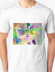 The Psychedelic Feline T-Shirt