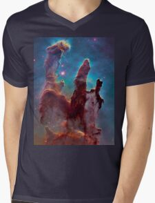 Eagle Nebula Mens V-Neck T-Shirt