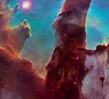 Eagle Nebula Sticker