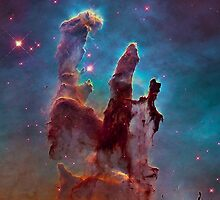 Eagle Nebula by lawleypop