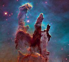 Eagle Nebula by lawleypop