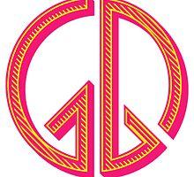 girls generation peace logo by galuhlaksmitha