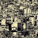 Athens in Mono #0101 by Michiel de Lange
