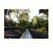Railroad Track  Art Print