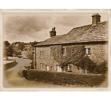 Downham a village unchanged Photographic Print