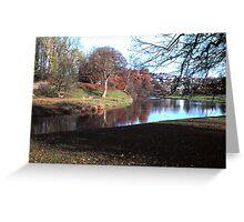 Beautiful north of England scene Greeting Card