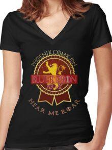 brashirt Lannisters Women's Fitted V-Neck T-Shirt