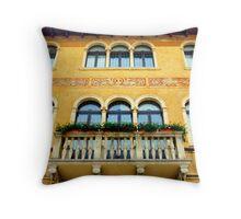 Italian Walls VI Throw Pillow