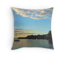Lake Macquarie Throw Pillow