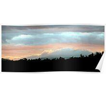 Cloudbank - Tamar Valley, Tasmania Poster