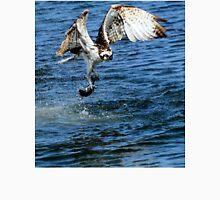 Osprey Goes Fishing Unisex T-Shirt