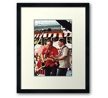 Tony D and Zeek Gross Framed Print