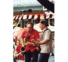Tony D and Zeek Gross Photographic Print