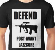 Defend Post avant Jazzcore Unisex T-Shirt